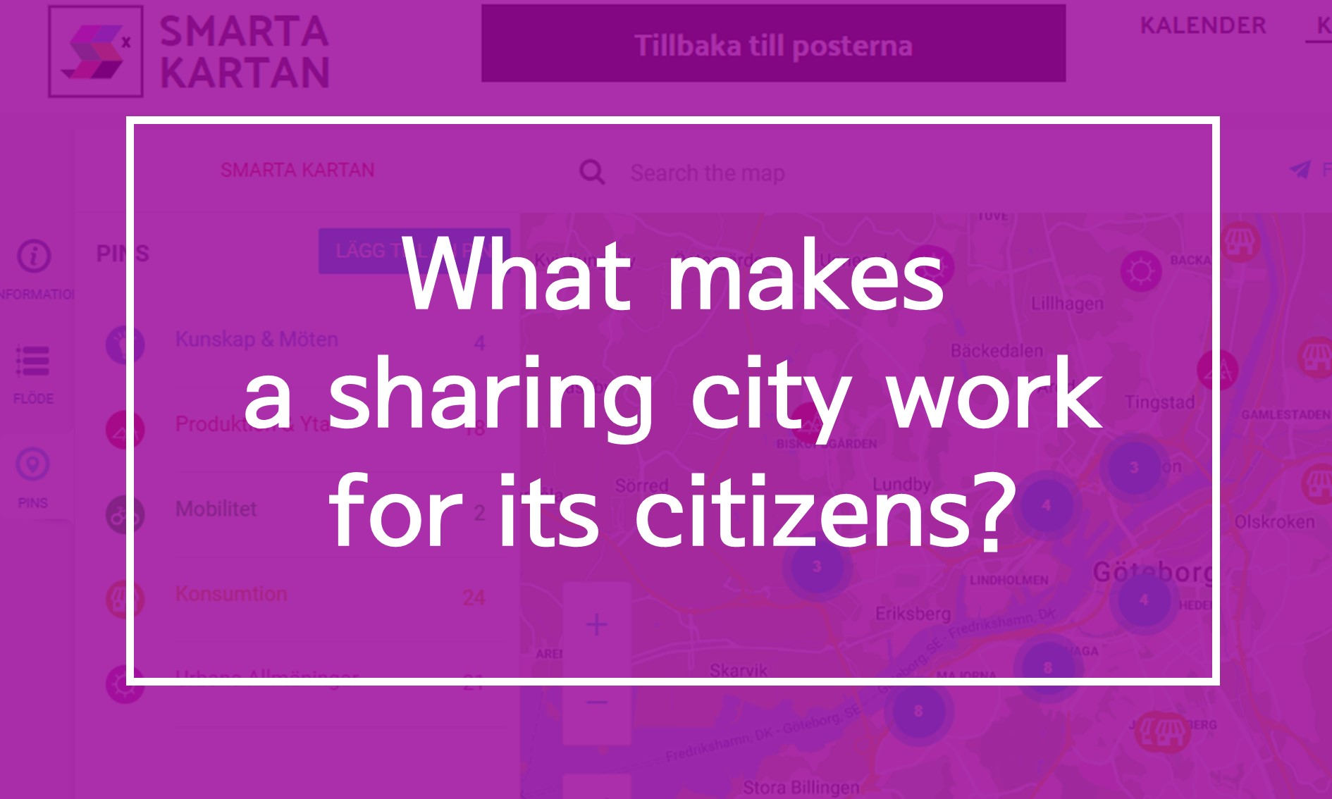 [Oversea News] What makes a sharing city work for its citizens?