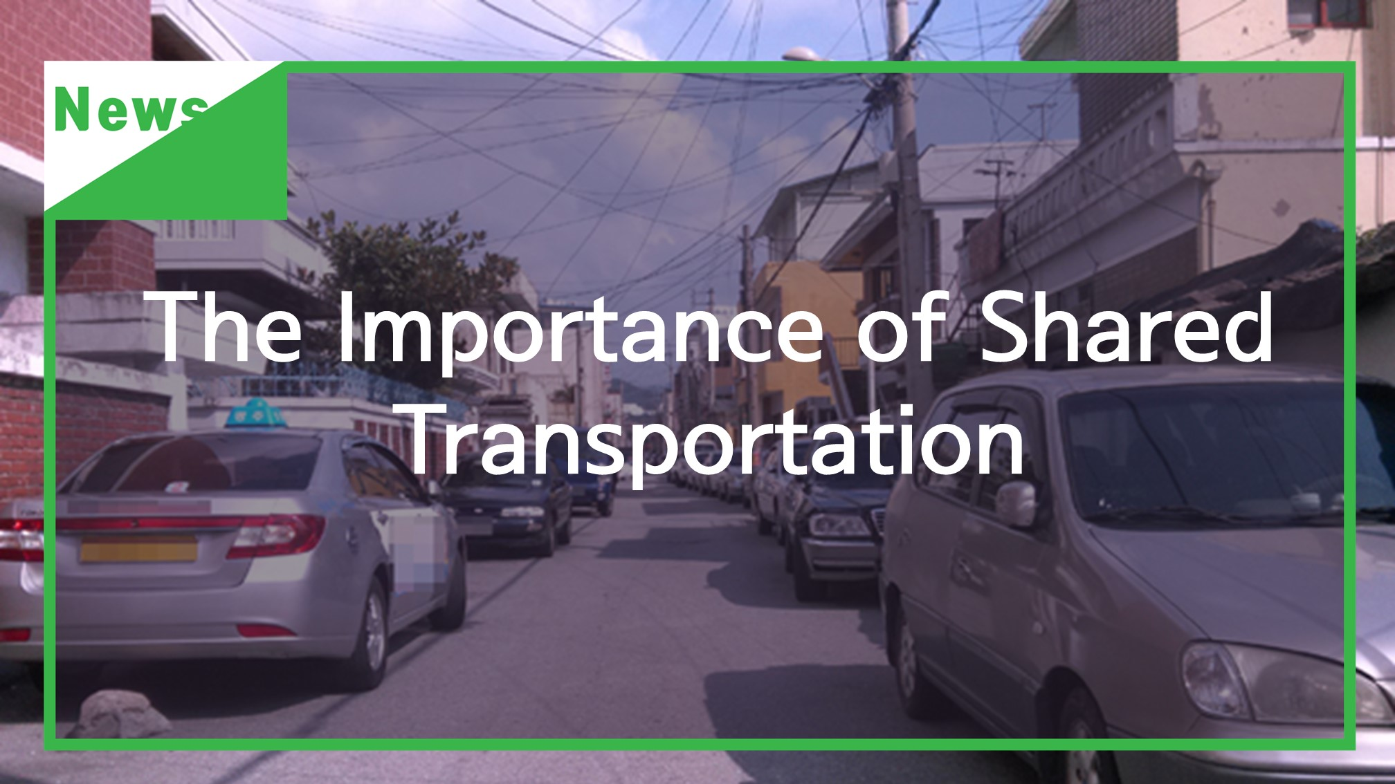 [Resources] The Importance of Shared Transportation