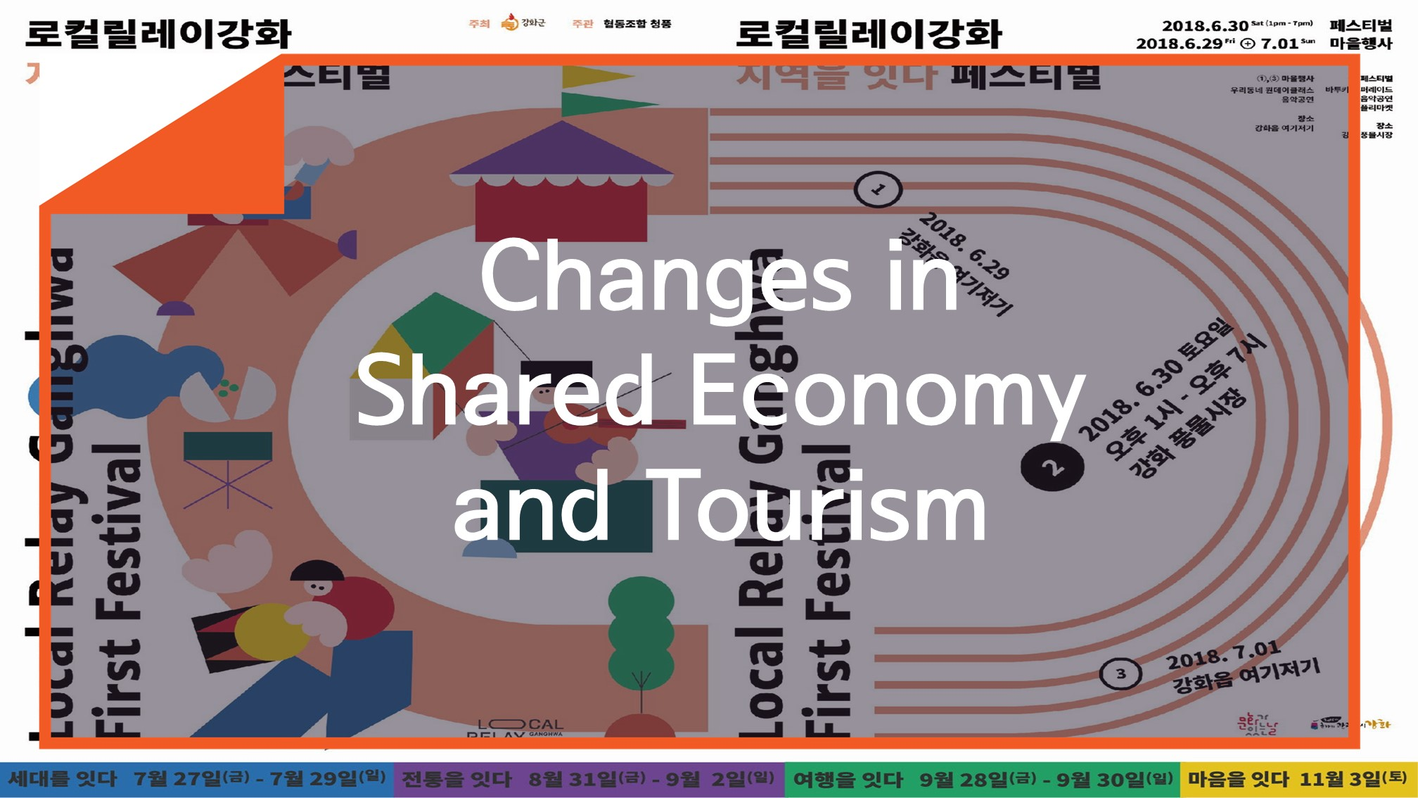 [Resources] Changes in Shared Economy and Tourism