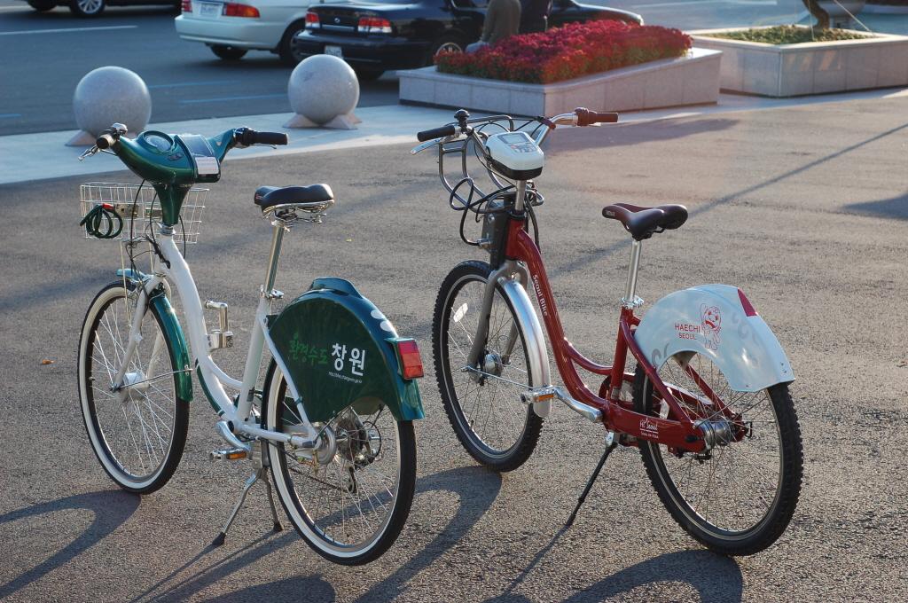서울, 창원 자전거