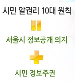서울시 정보 소통 광장 logo
